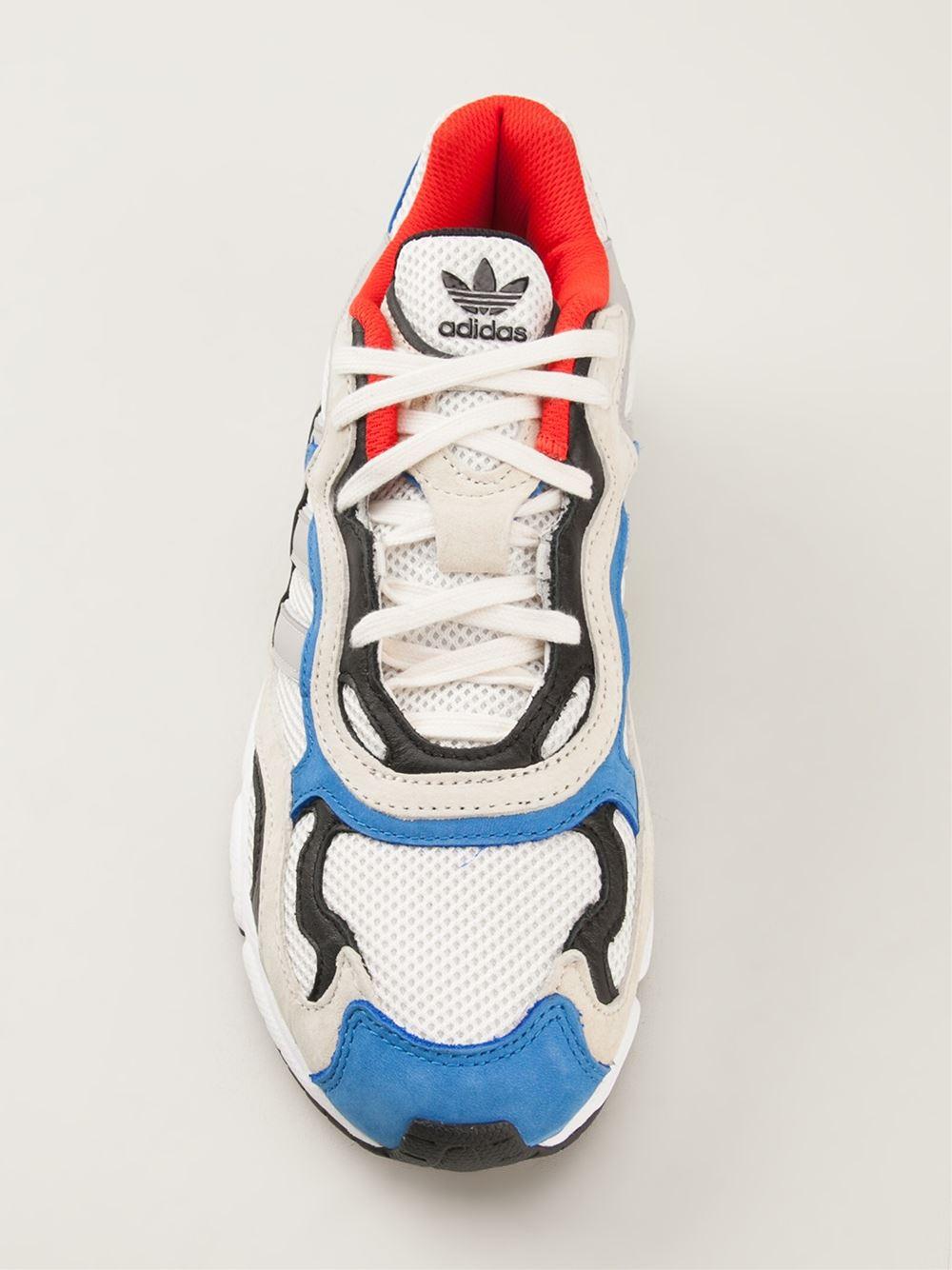 pretty nice 01e7b 57cce adidas Temper Run Sneakers in White for Men - Lyst