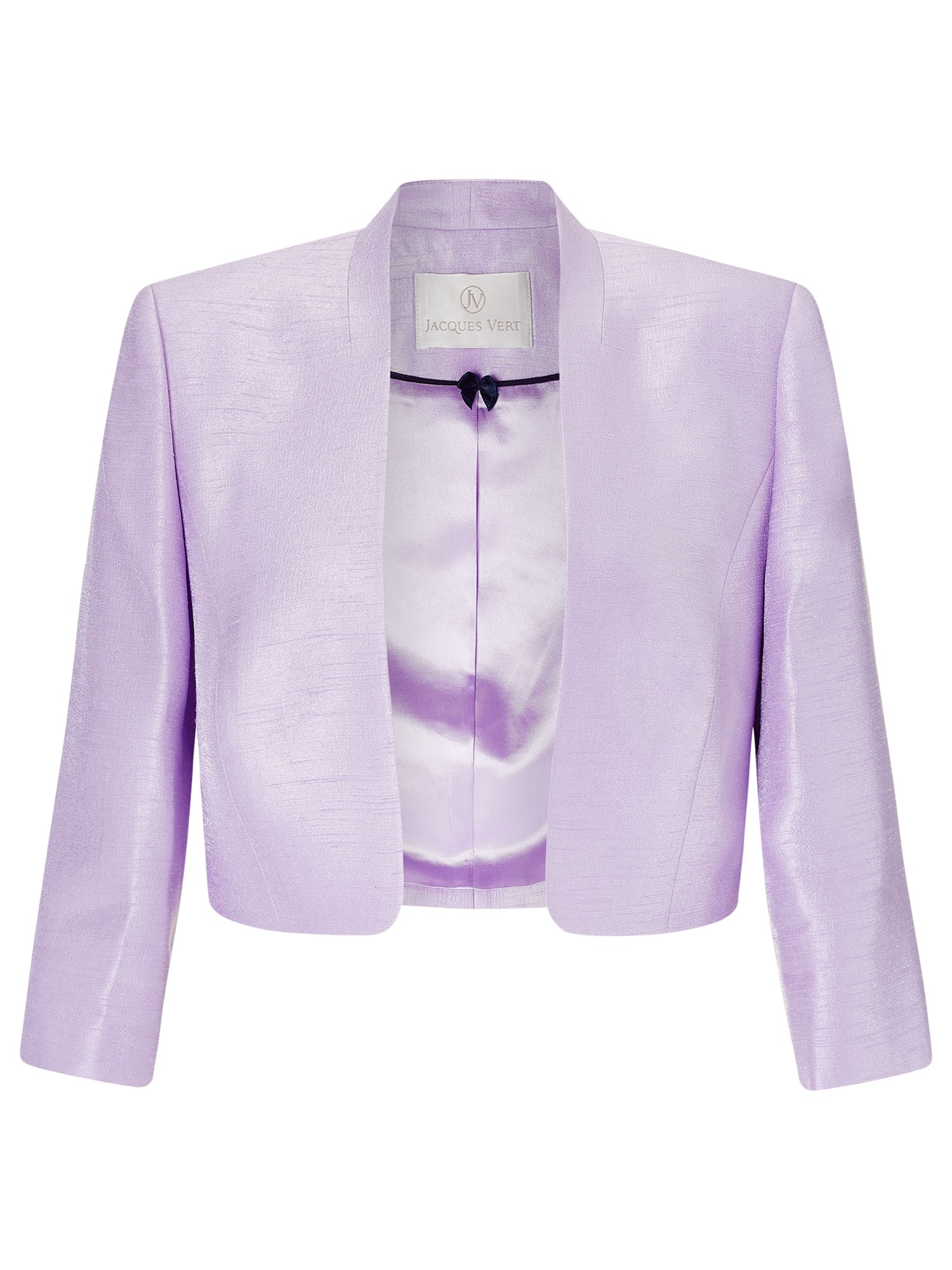 Jacques Vert Stand Collar Bolero In Pink Lyst