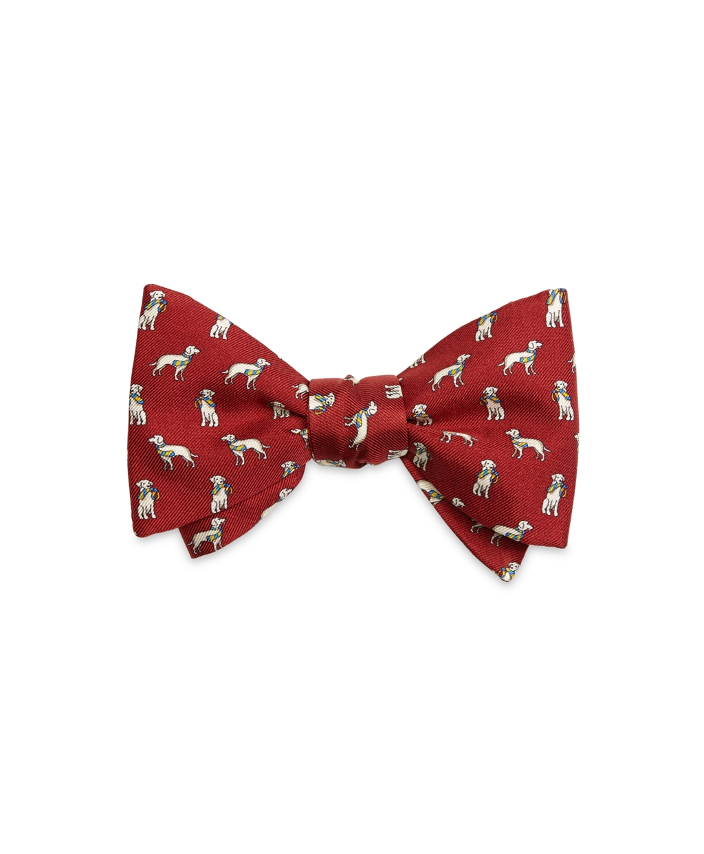 3533ab26050a Brooks Brothers Dog Print Bow Tie in Red for Men - Lyst