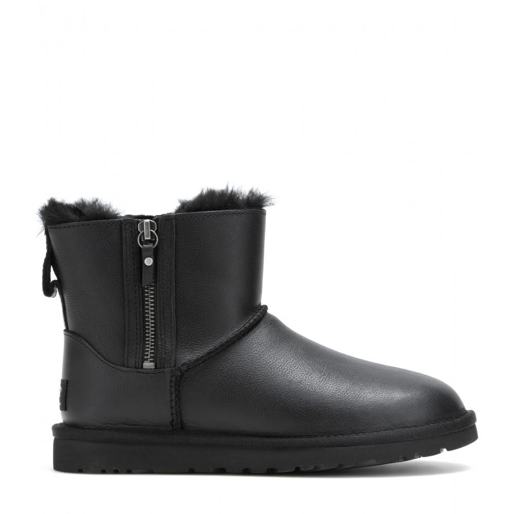 2eea7d07b74 usa ugg boots black ankle 31ed6 d3fe9