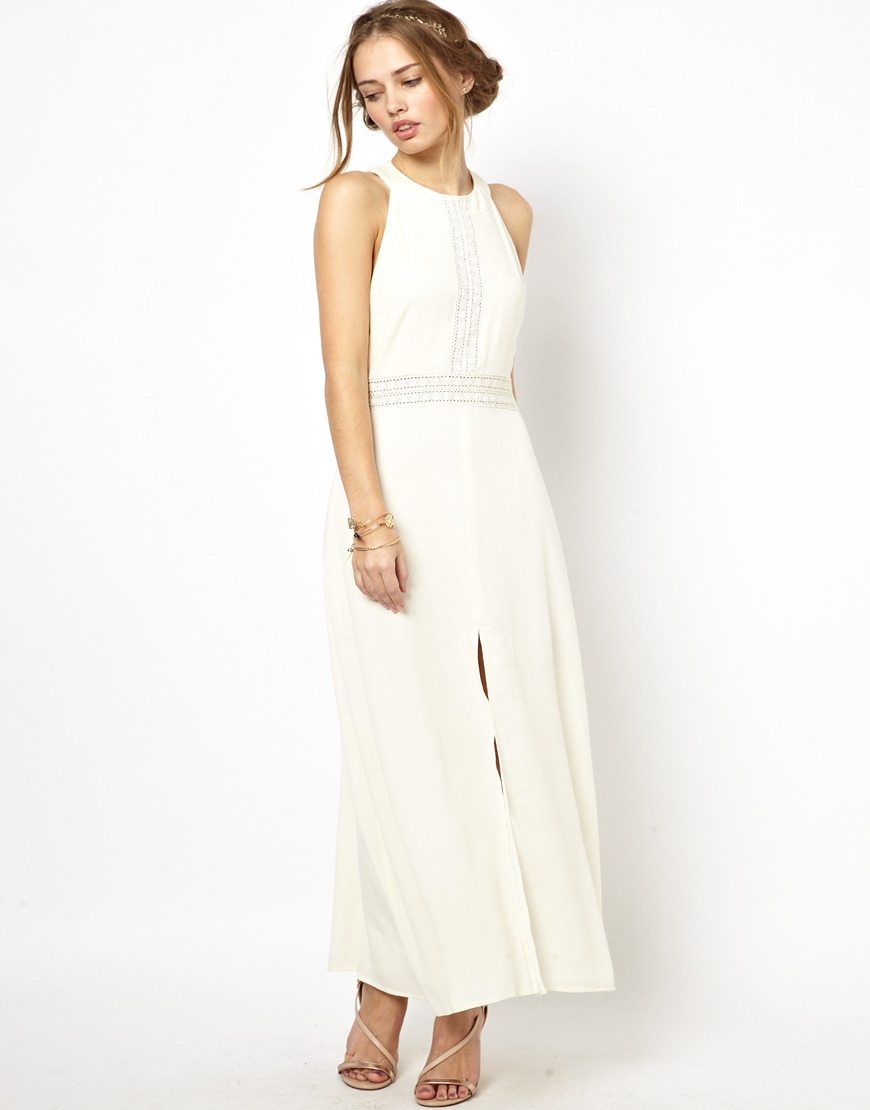 Jarlo white maxi dress.