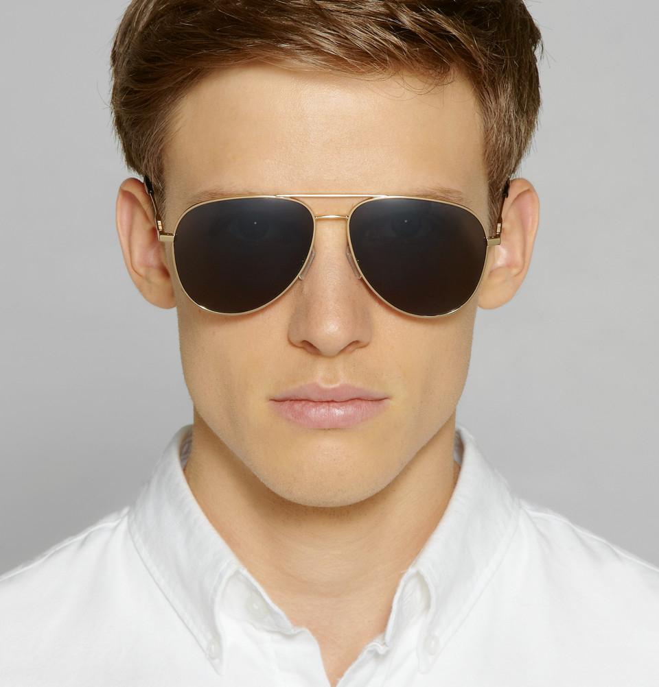 e12ff4b9d8 Saint Laurent Sunglasses Aviator