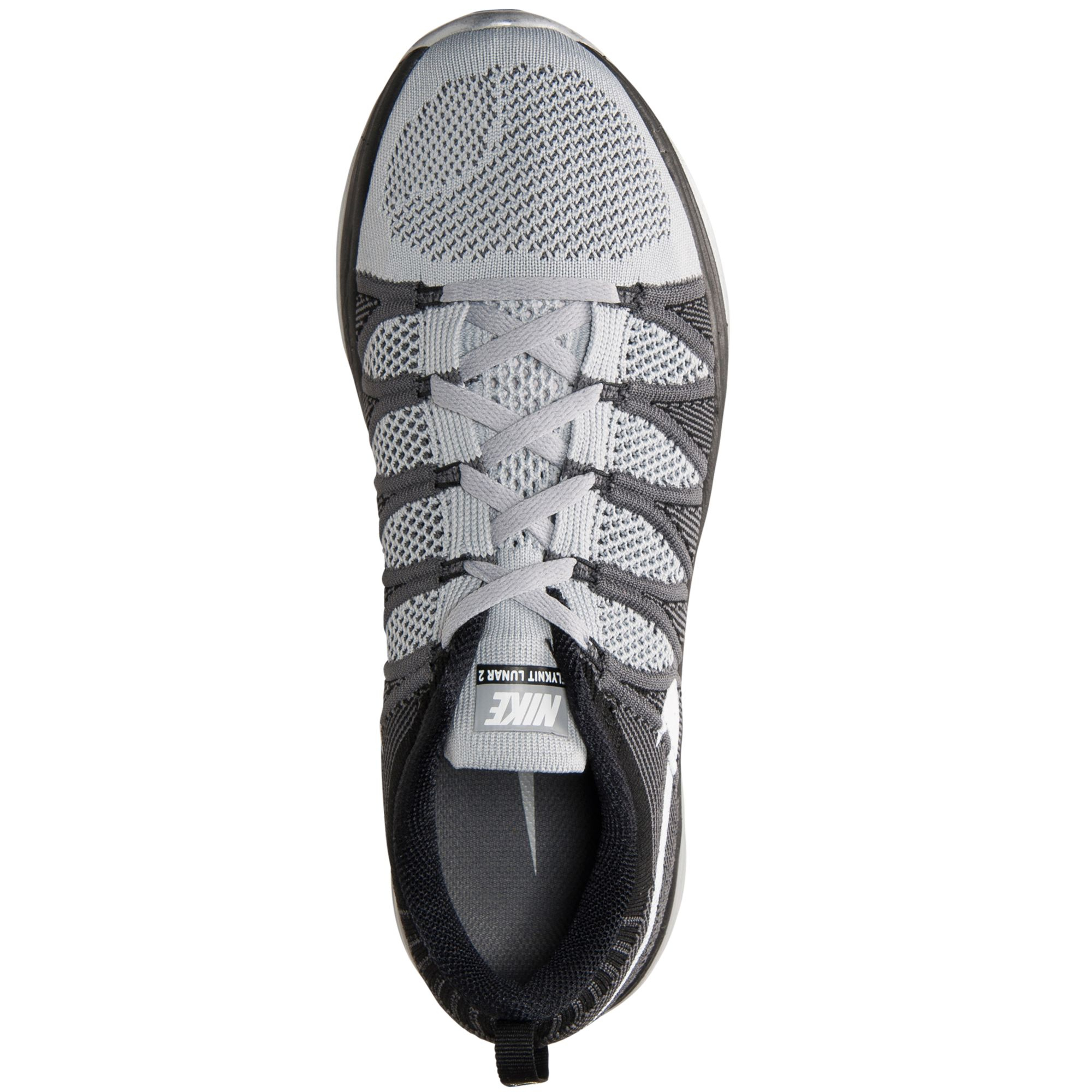 69cbd65ae03e3d ... buy lyst nike mens flyknit lunar2 running sneakers from finish line in  6987e 4549c