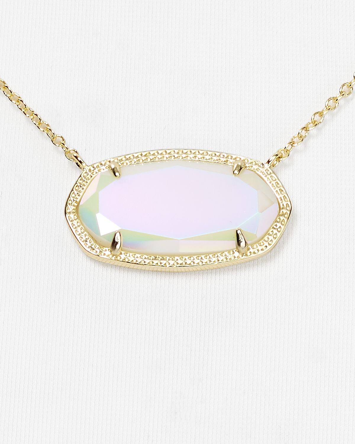 Lyst Kendra Scott Dylan Necklace 16 in Pink