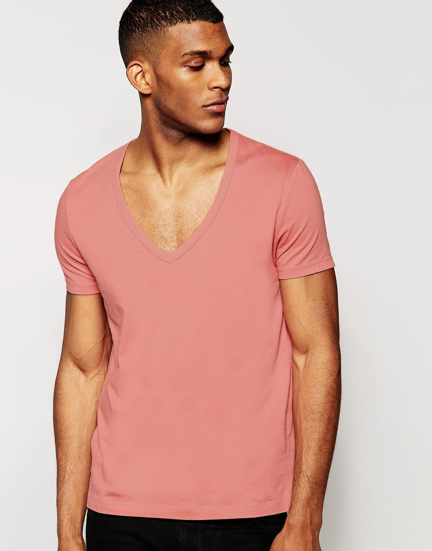 Mens Pink T Shirt Shirts Rock