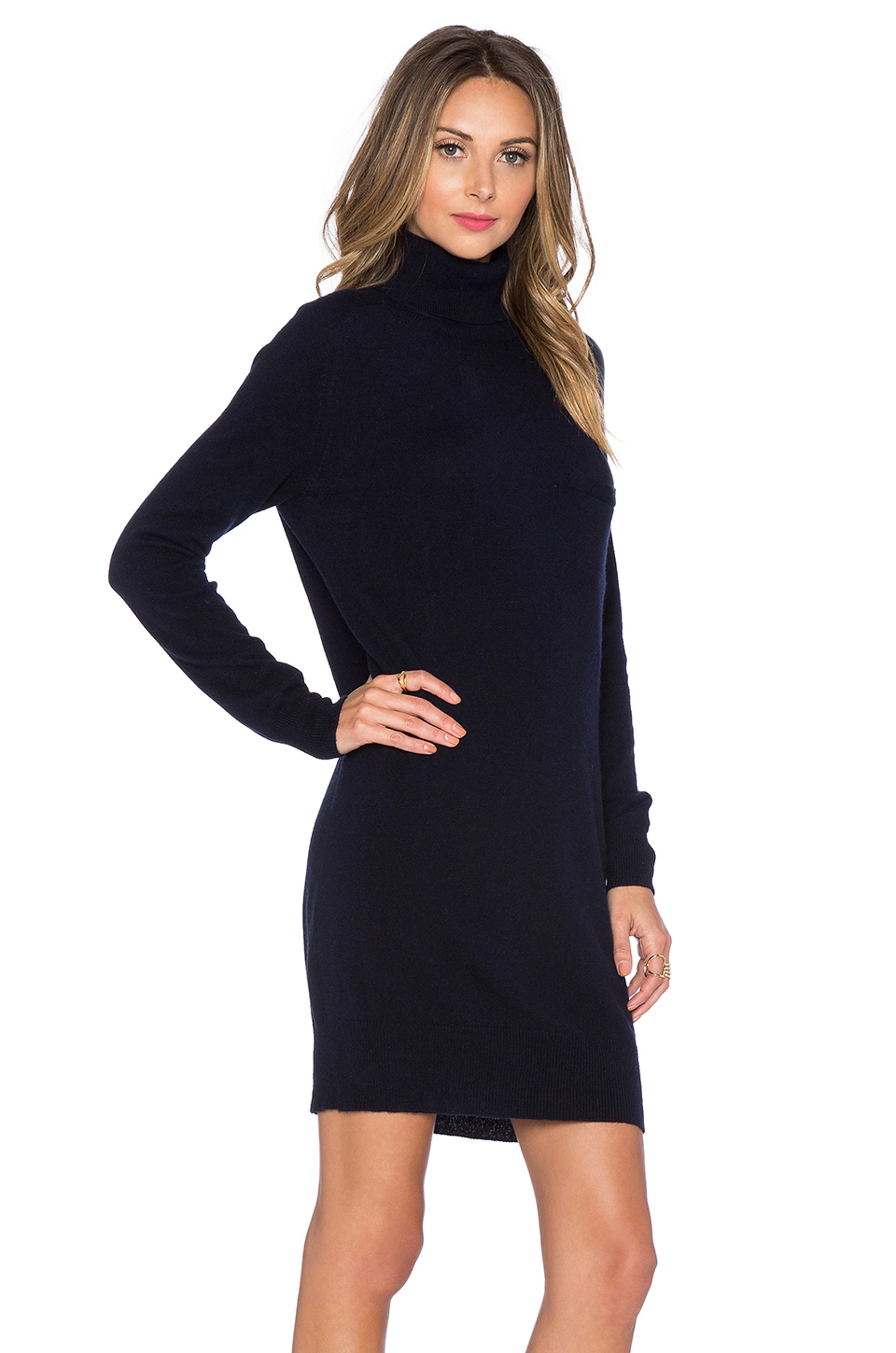 Demylee Bianca Cashmere Sweater Dress in Blue | Lyst