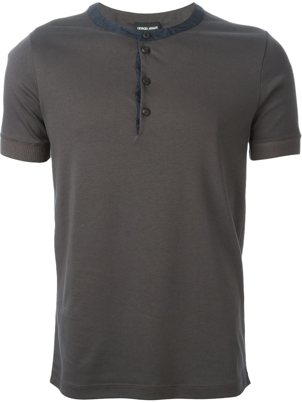 Men Collarless Shirt