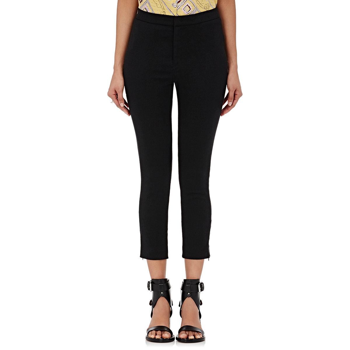 329914ab28 Isabel Marant Women's Lindy Skinny Pants in Black - Lyst