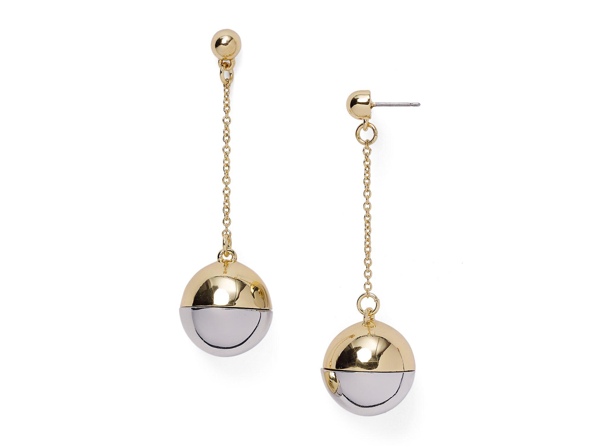 Lyst Baublebar Jingle Drop Earrings In Metallic