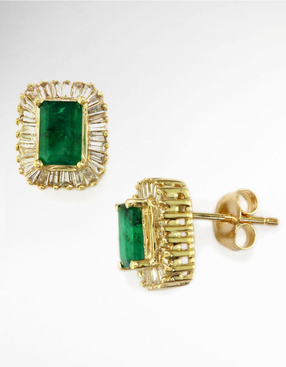 Effy Diamond Stud Earrings