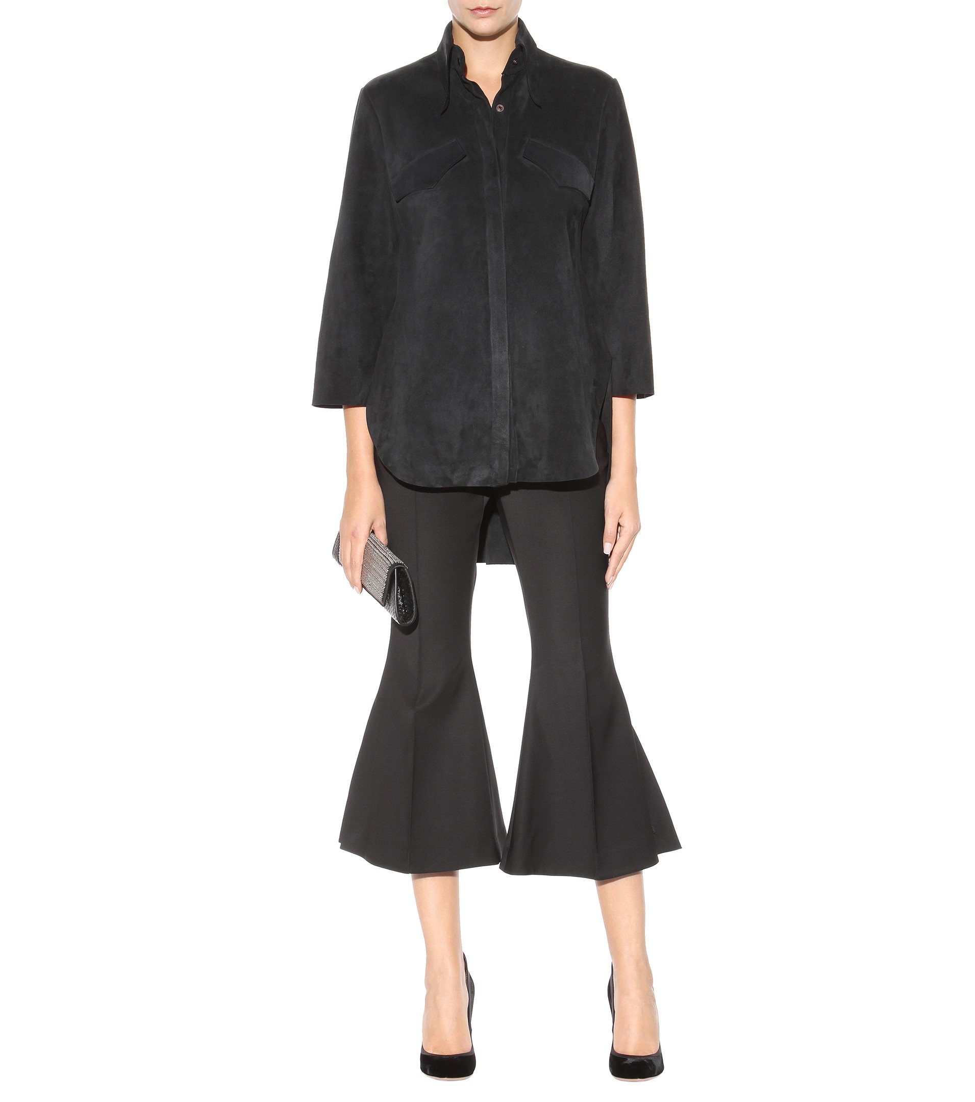 Ellery cropped flared trousers Clearance Latest Collections Cheap Sale Authentic Cheap Pre Order Sjxet