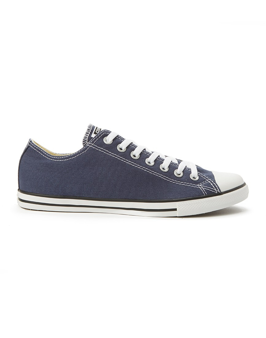4a3324bd62e3 ... where can i buy lyst converse chuck taylor all star lean plimsolls grey  in blue 246d4