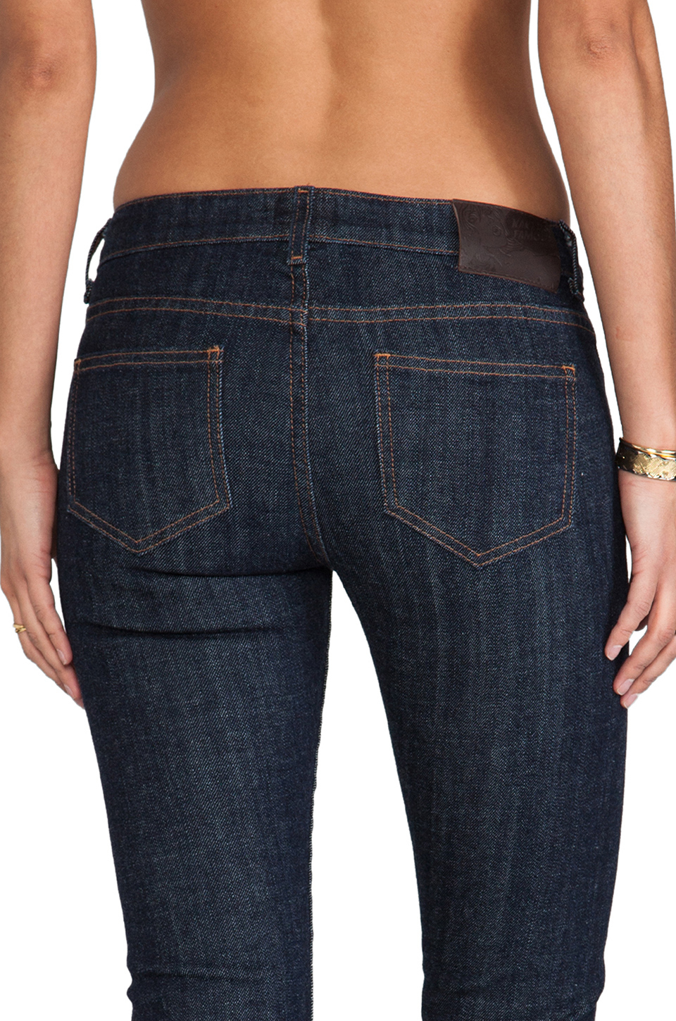 Lyst - Naked  Famous The Straight Stretch Selvedge In Blue-5020