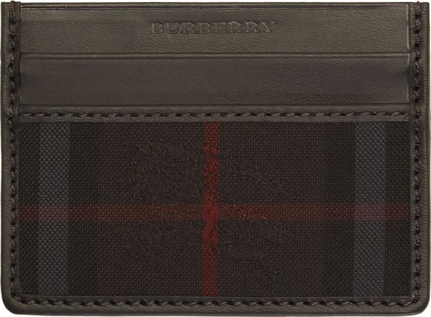Burberry Black Card Holder