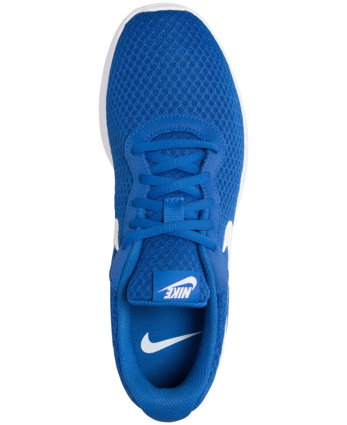 04ed98c6b34 Lyst - Nike Men s Tanjun Casual Sneakers From Finish Line in Blue ...