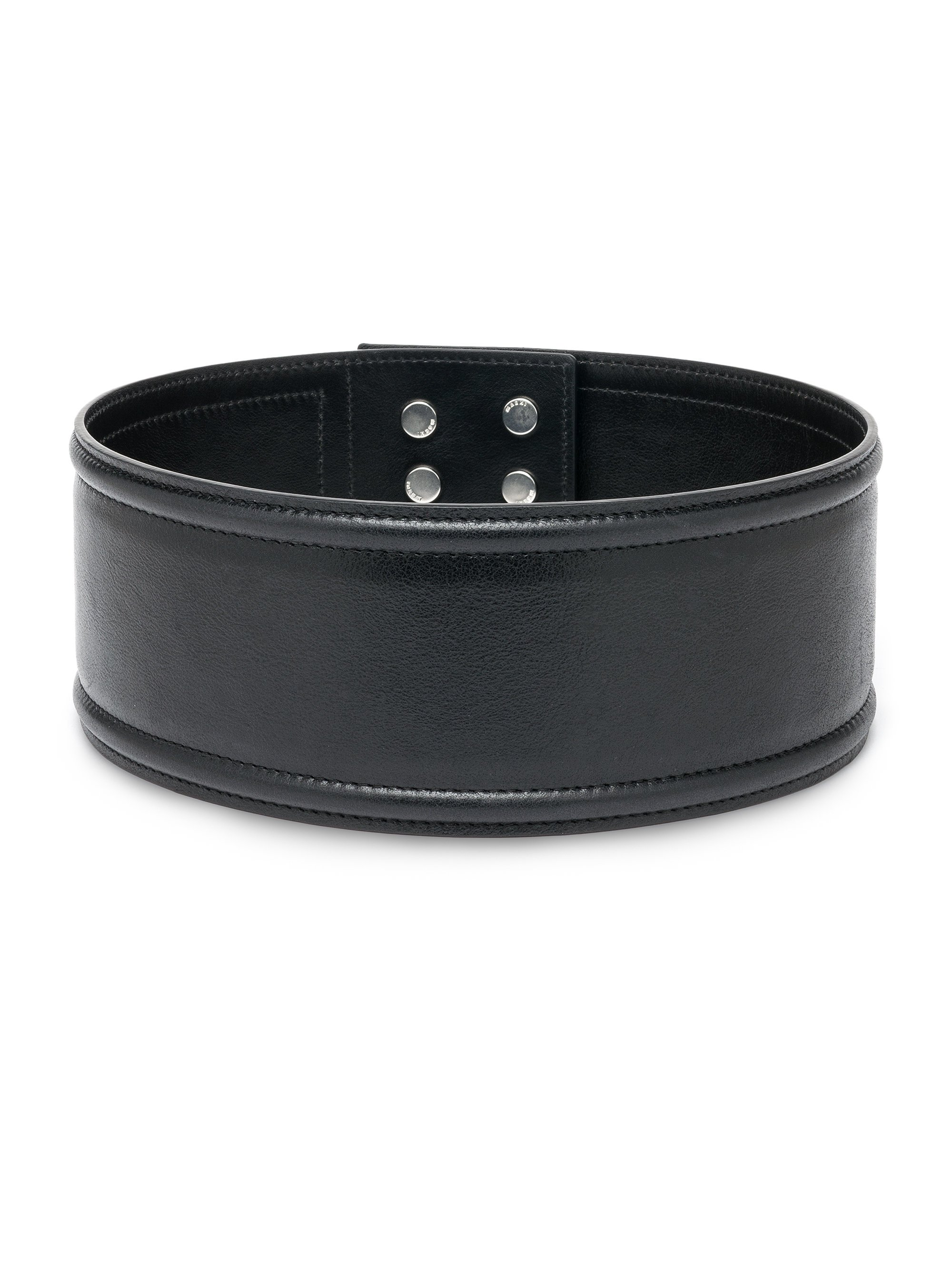 marni wide leather belt in black lyst