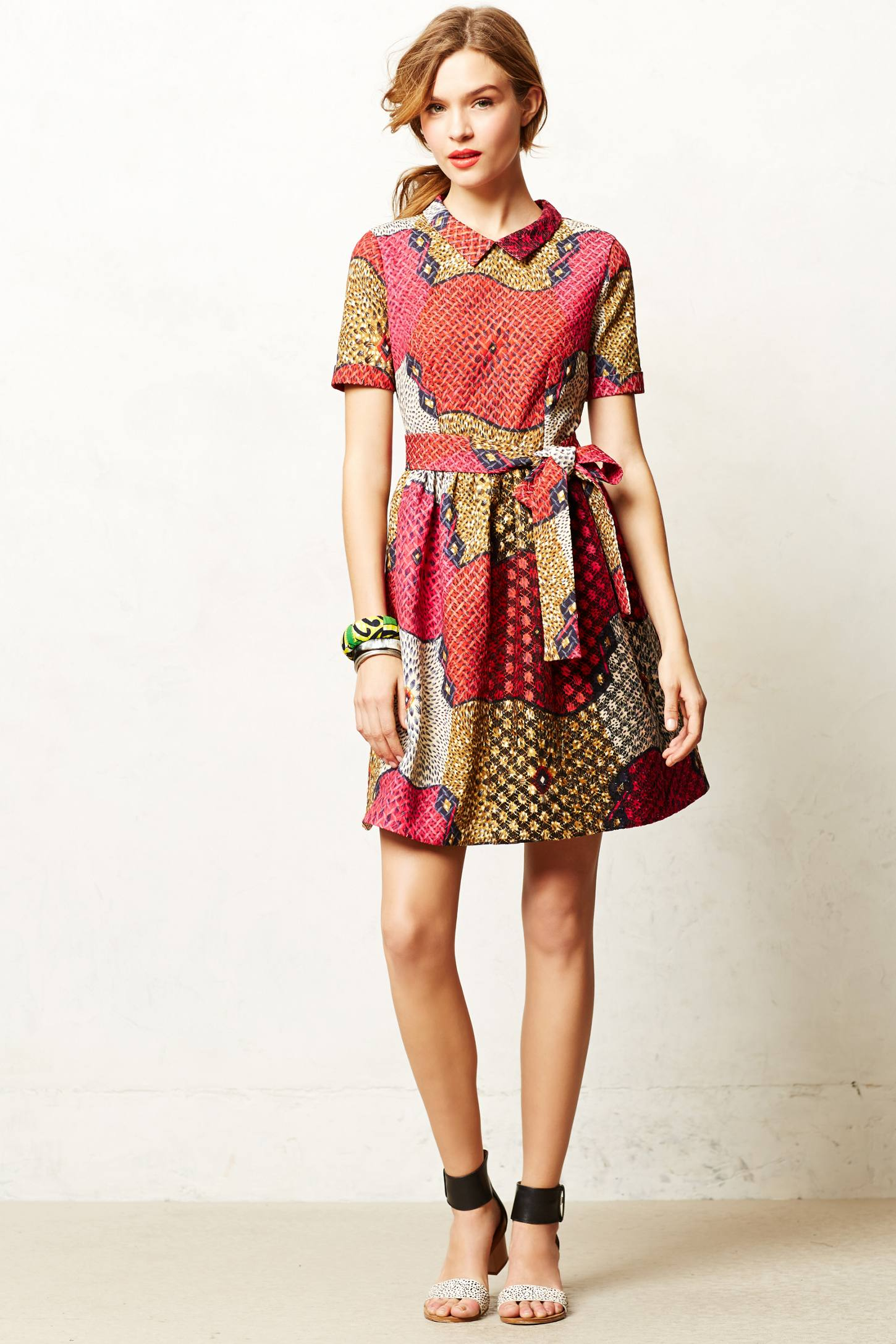 Lyst Anthropologie E Africa Pili Party Dress In Red