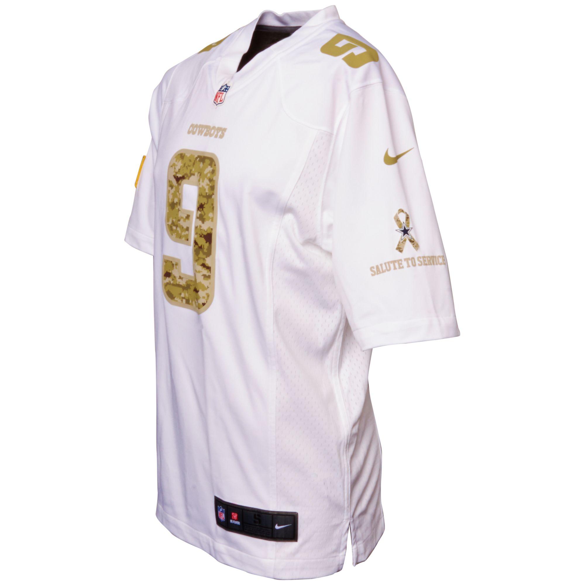 buy popular 657c0 5c7a7 Lyst - Nike Tony Romo Dallas Cowboys Jersey in White for Men