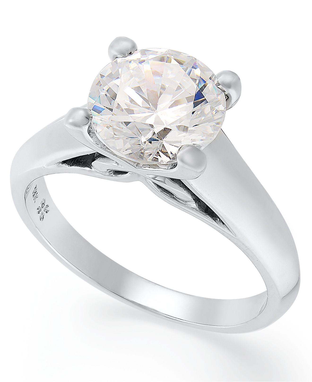 Macy S Certified Diamond Rings
