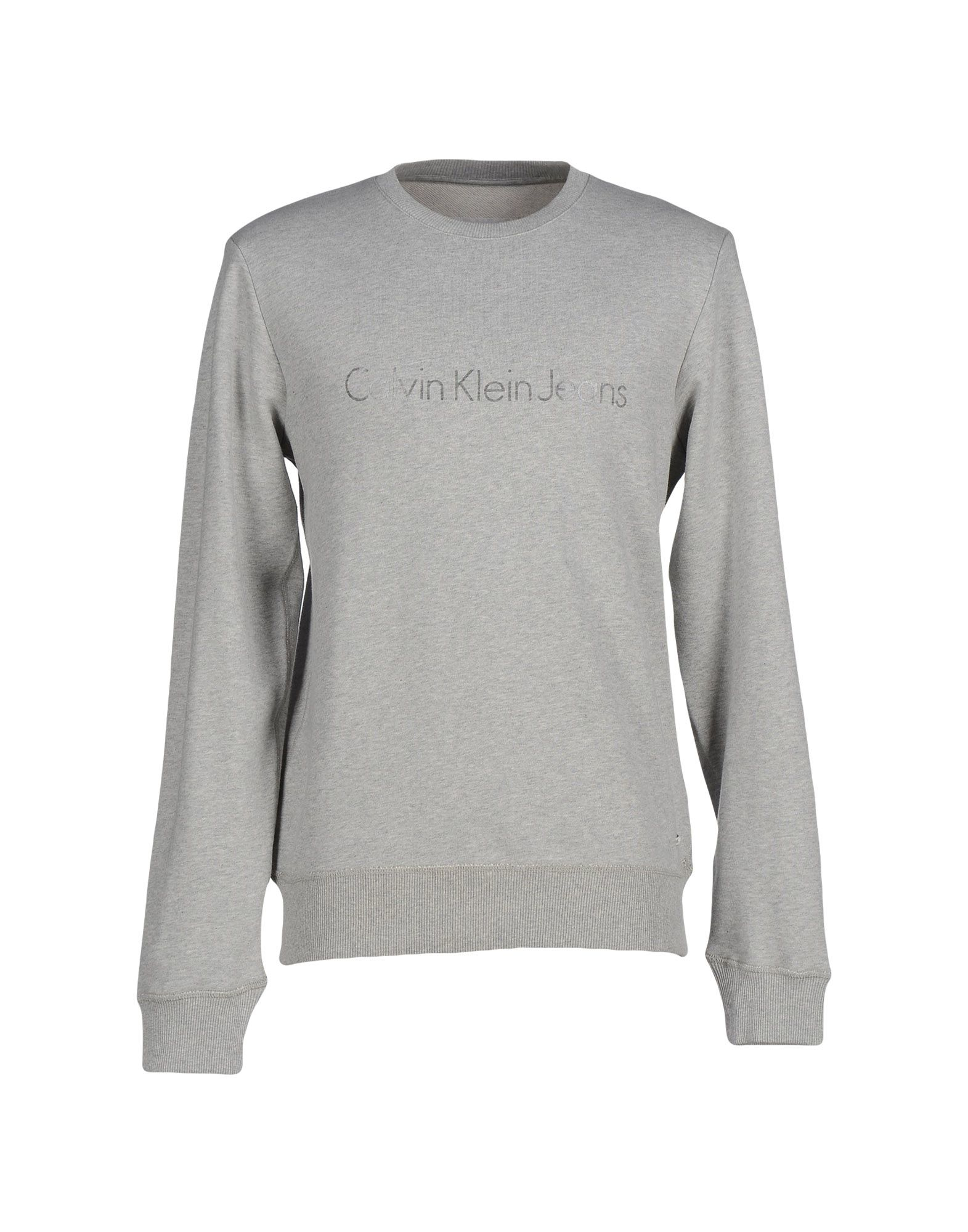 calvin klein jeans sweatshirt in gray for men lyst. Black Bedroom Furniture Sets. Home Design Ideas