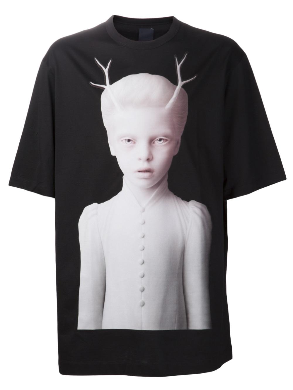 Visit New Online Fast Delivery Online Black Poster Graphic T-Shirt Juun.J SOWEY