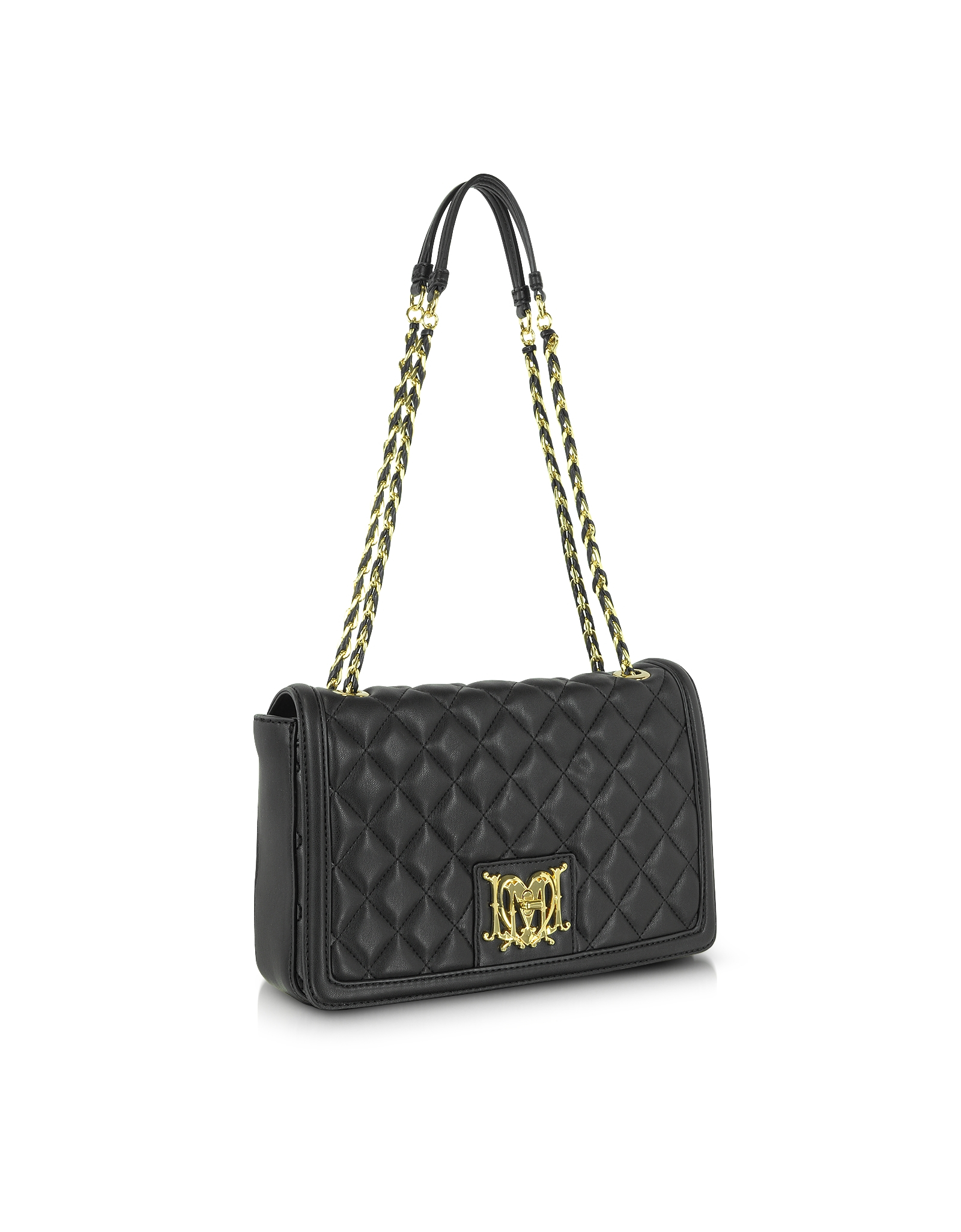 Love Moschino Super Quilted Flap Over Shoulder Bag 42