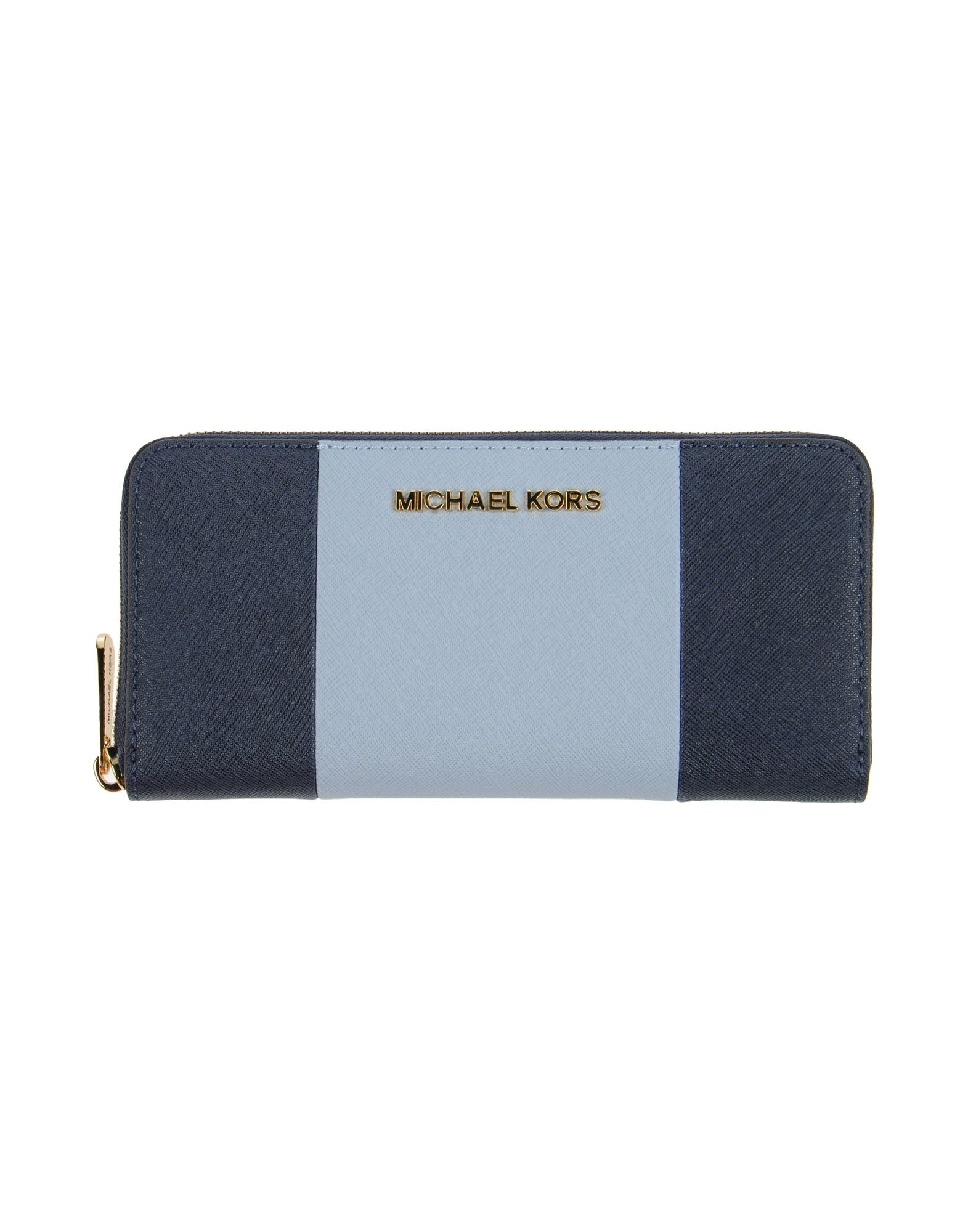 1dcf1248108e3d ... greece lyst michael michael kors wallet in blue aaf30 f951d