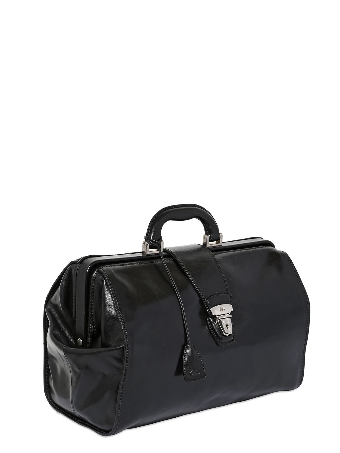 The Bridge Hand Painted Leather Classic Doctor Bag In