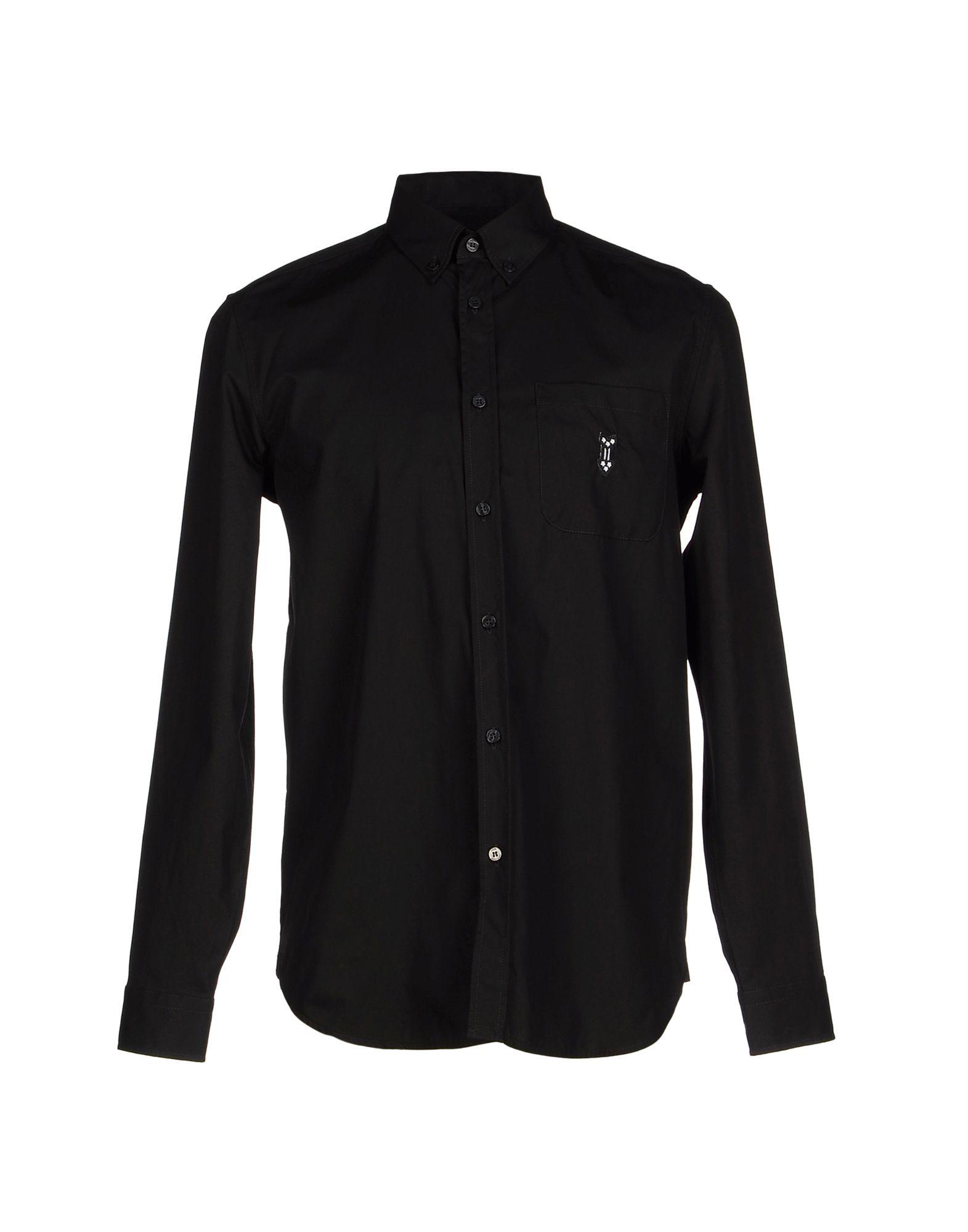 love moschino shirt in black for men lyst. Black Bedroom Furniture Sets. Home Design Ideas