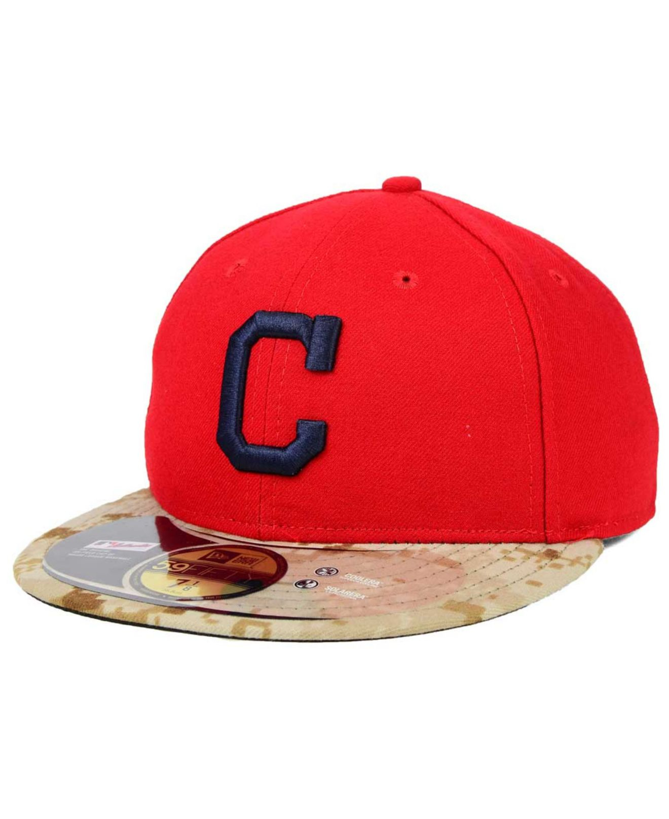 9a0644f38b948 Lyst - KTZ Cleveland Indians 2015 Memorial Day Stars And Stripes ...
