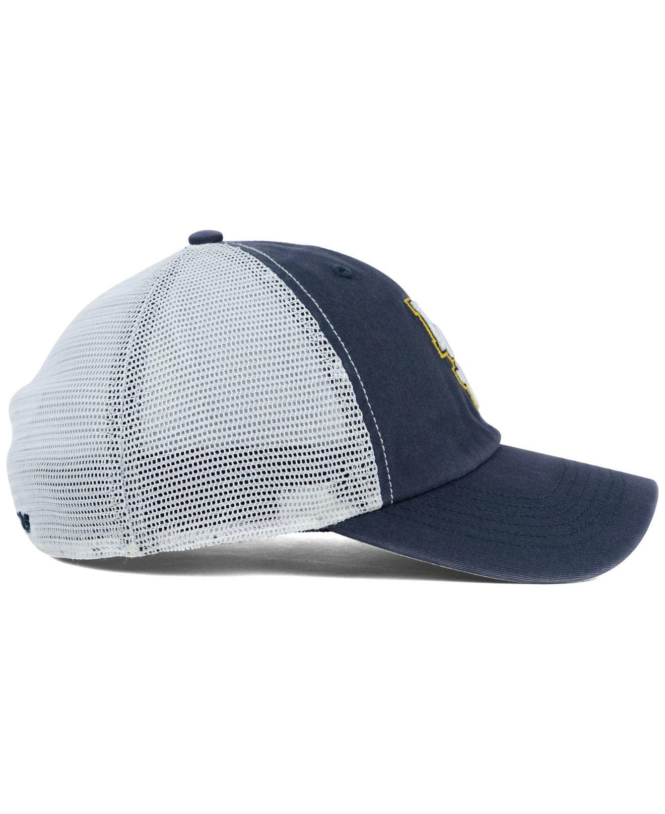 separation shoes 8c82c 8a85c ... good lyst 47 brand lsu tigers stretch fit griffin cap in blue for men  d5b03 37d13
