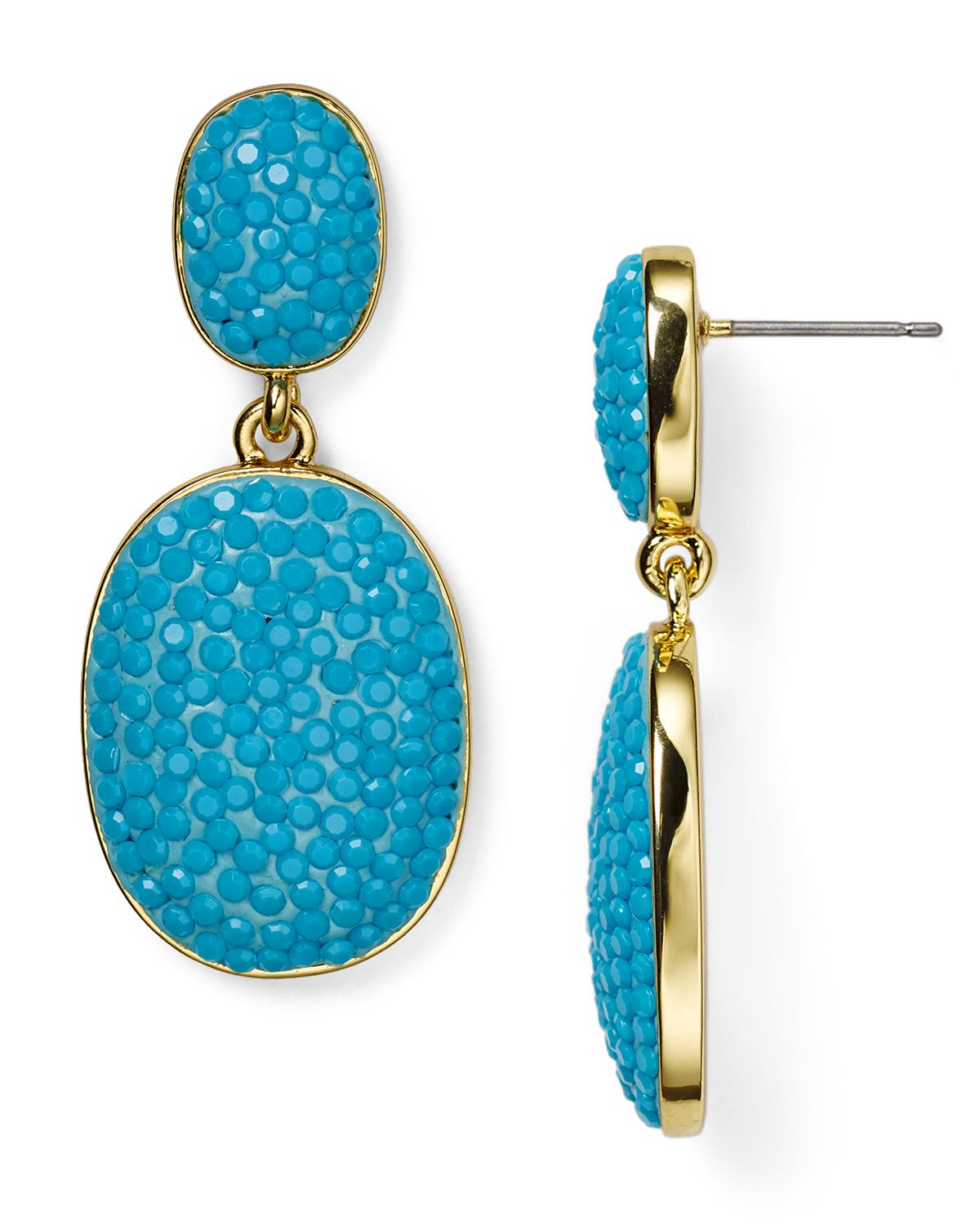 Spade Jewelry: Kate Spade New York Pave The Way Drop Earrings In
