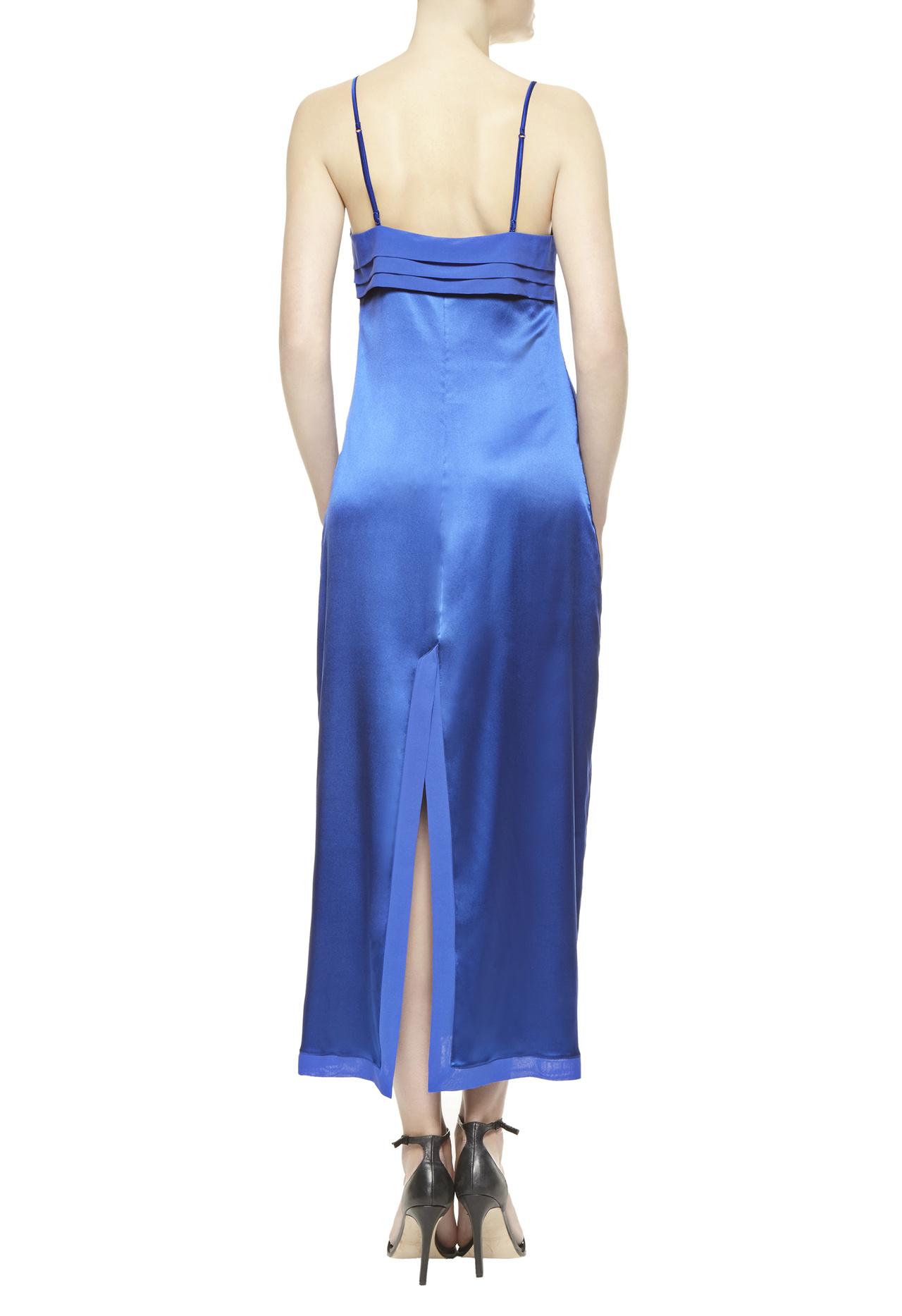 Lyst La Perla Long Nightgown In Blue