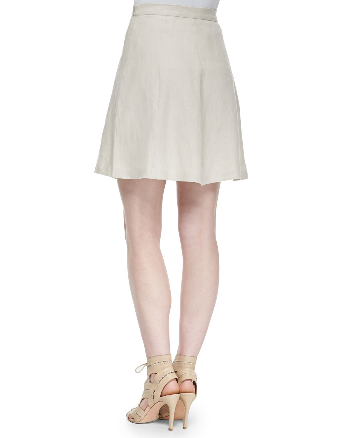 joie loudivine structured a line skirt in lyst