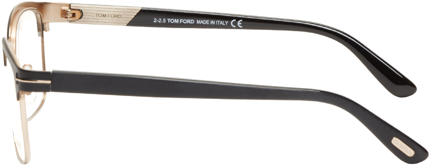 01d29fa59dfc Lyst - Tom Ford Black Horn Rim Tf5323 Optical Glasses in Black for Men