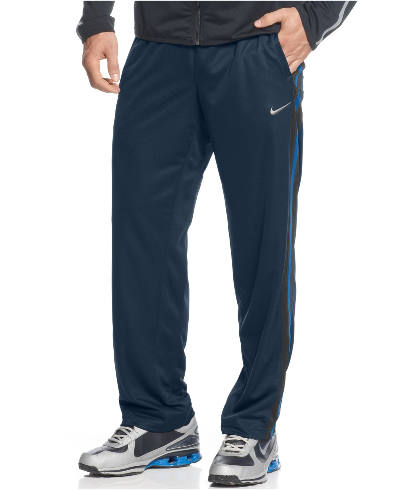 f95a5cdee28fc Nike Men's Epic Track Pants in Blue for Men - Lyst