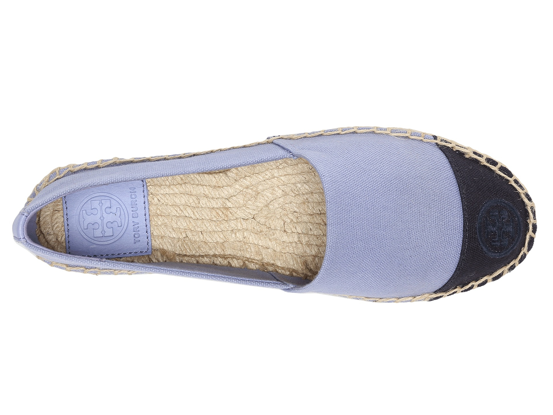 b175a59cbe1 Lyst - Tory Burch Color Block Espadrille in Blue