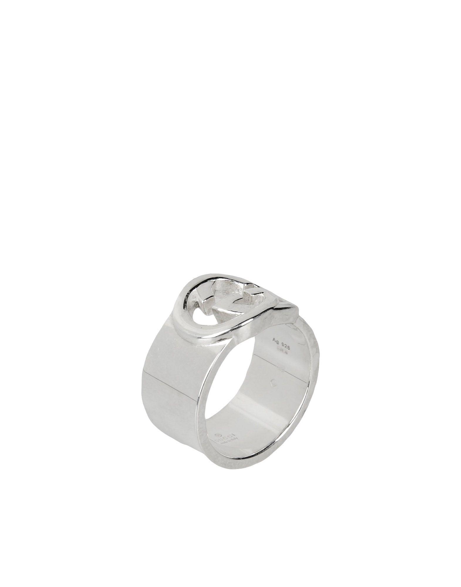 25f13b59a902 Lyst - Gucci Ring in Metallic