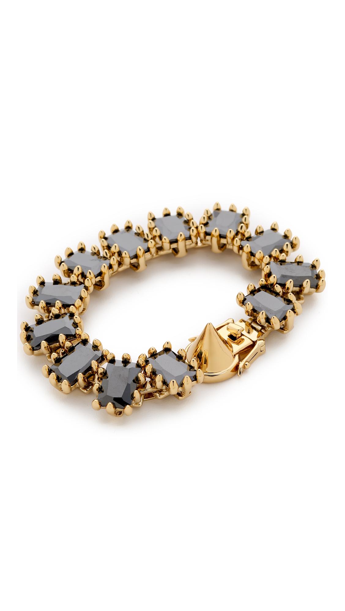 Eddie Borgo Small Rectangle Estate Bracelet ZlqSKhX7x