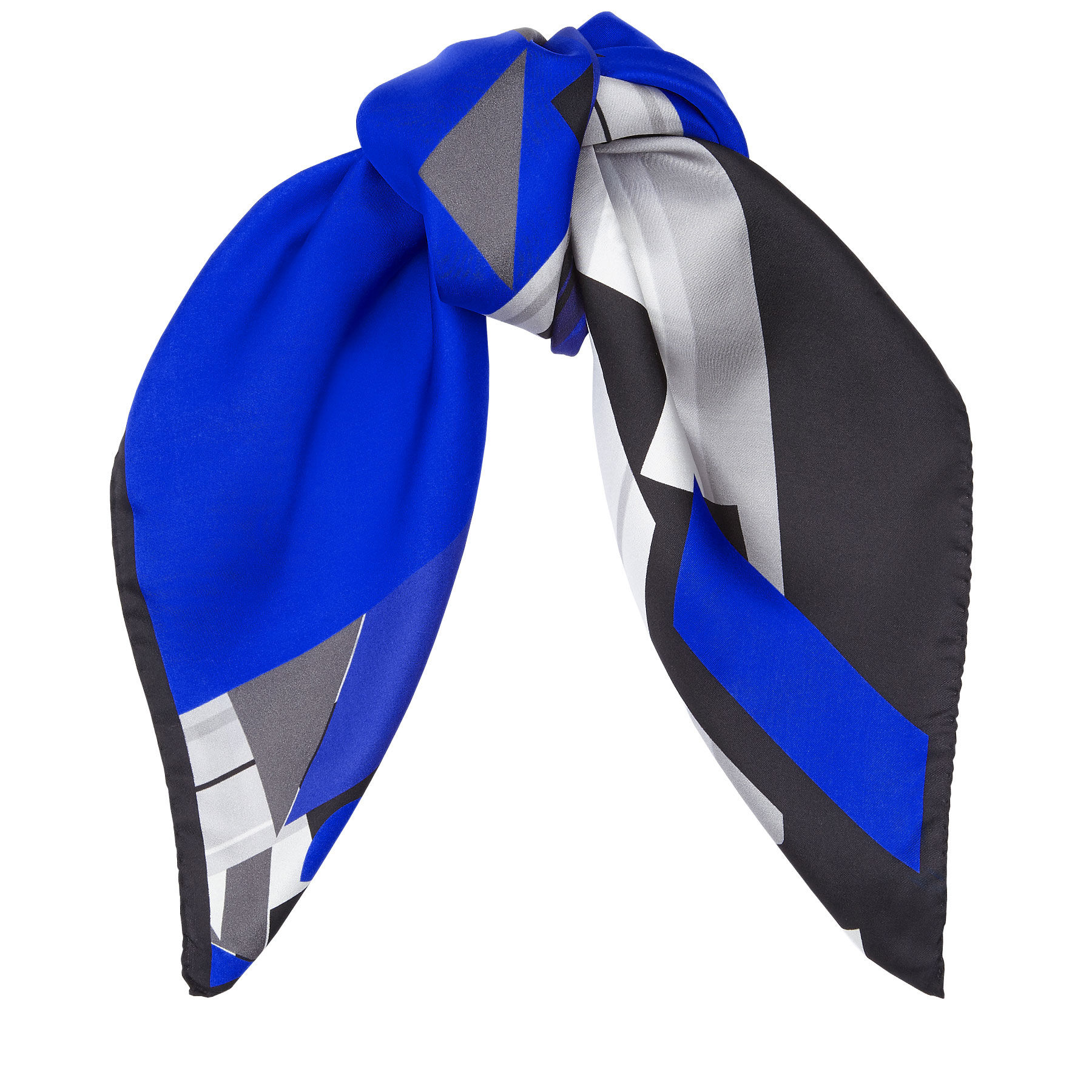 jimmy choo scarf in blue lyst