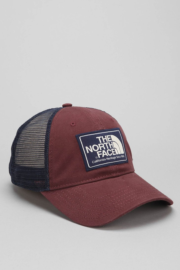 a976a086122 The North Face Mudder Trucker Hat in Brown for Men - Lyst