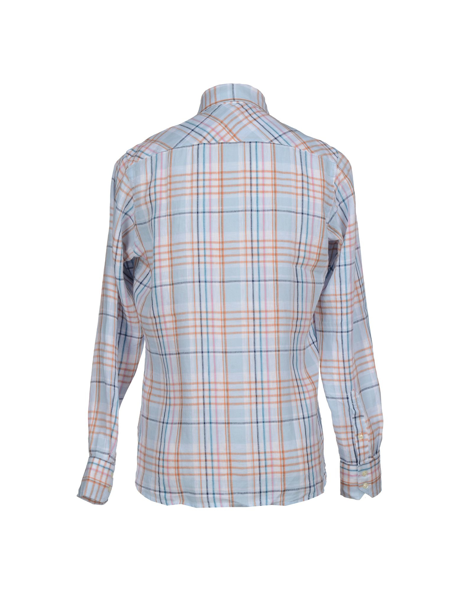 Tommy hilfiger shirt in blue for men lyst for Cheap tommy hilfiger dress shirts