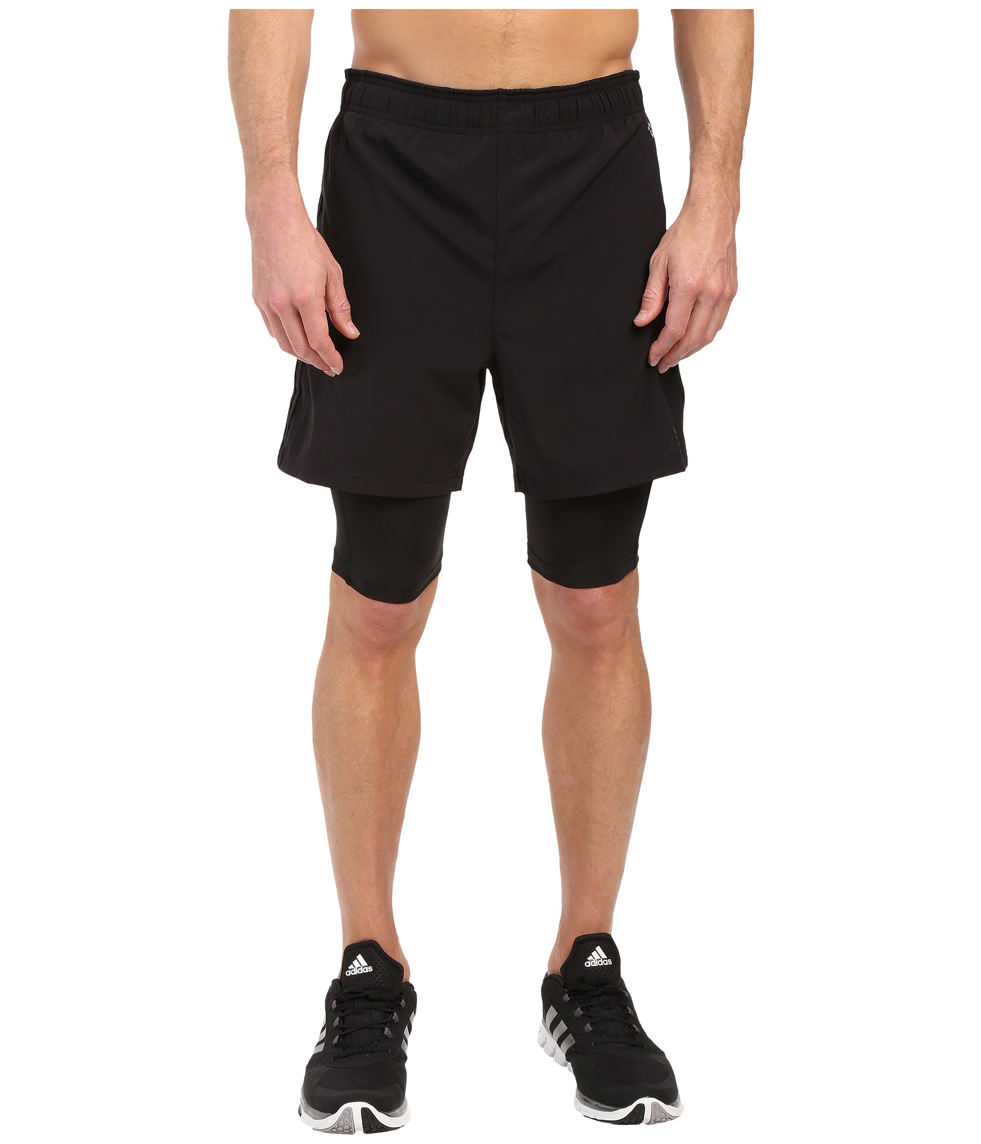 adidas 2 in 1 shorts. gallery adidas 2 in 1 shorts lyst