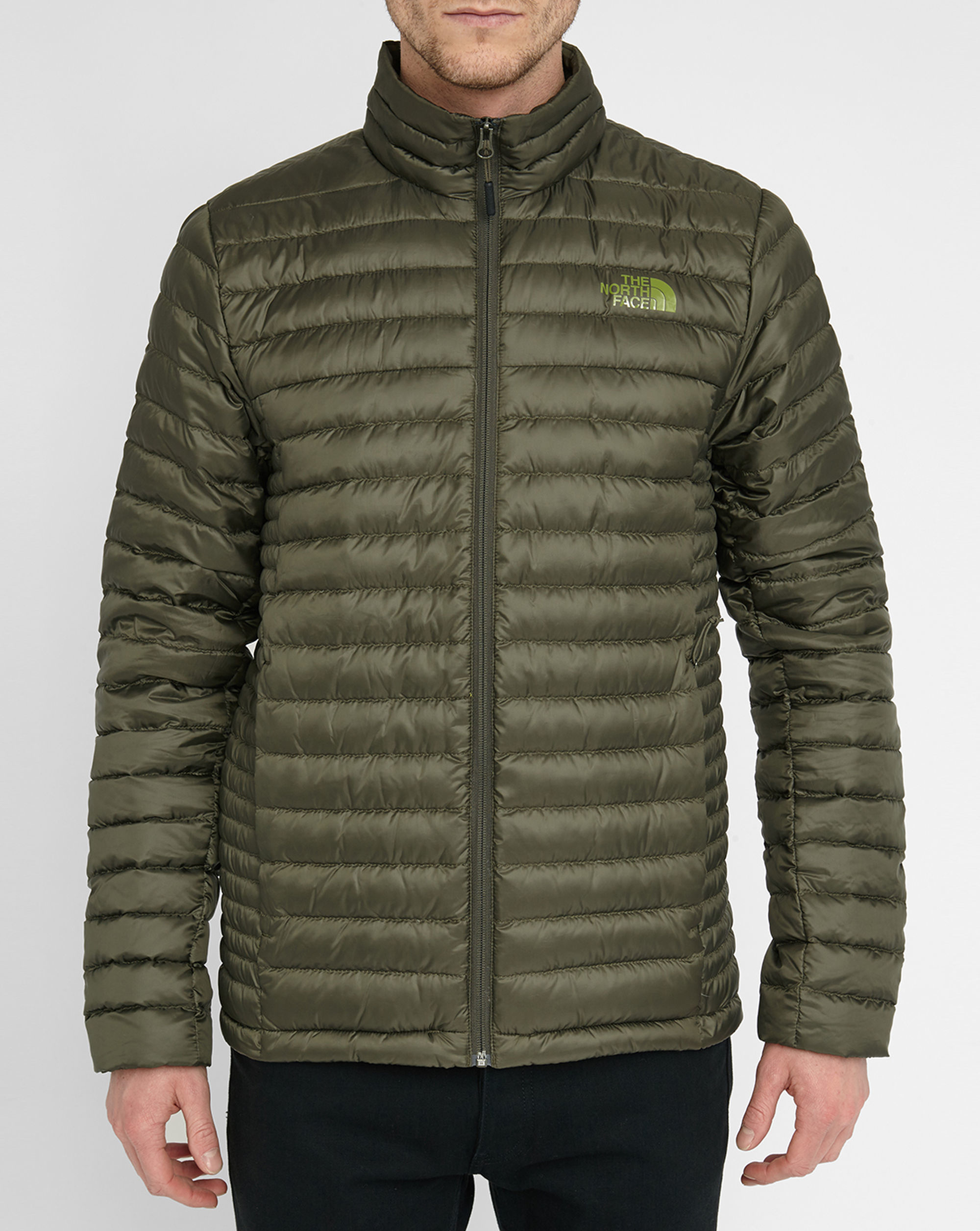 the north face green tonnero light pr down jacket in green. Black Bedroom Furniture Sets. Home Design Ideas
