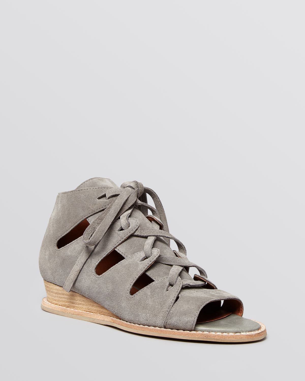 c4b38286349 Lyst - Jeffrey Campbell Open Toe Gladiator Sandals - Suede Diaz ...