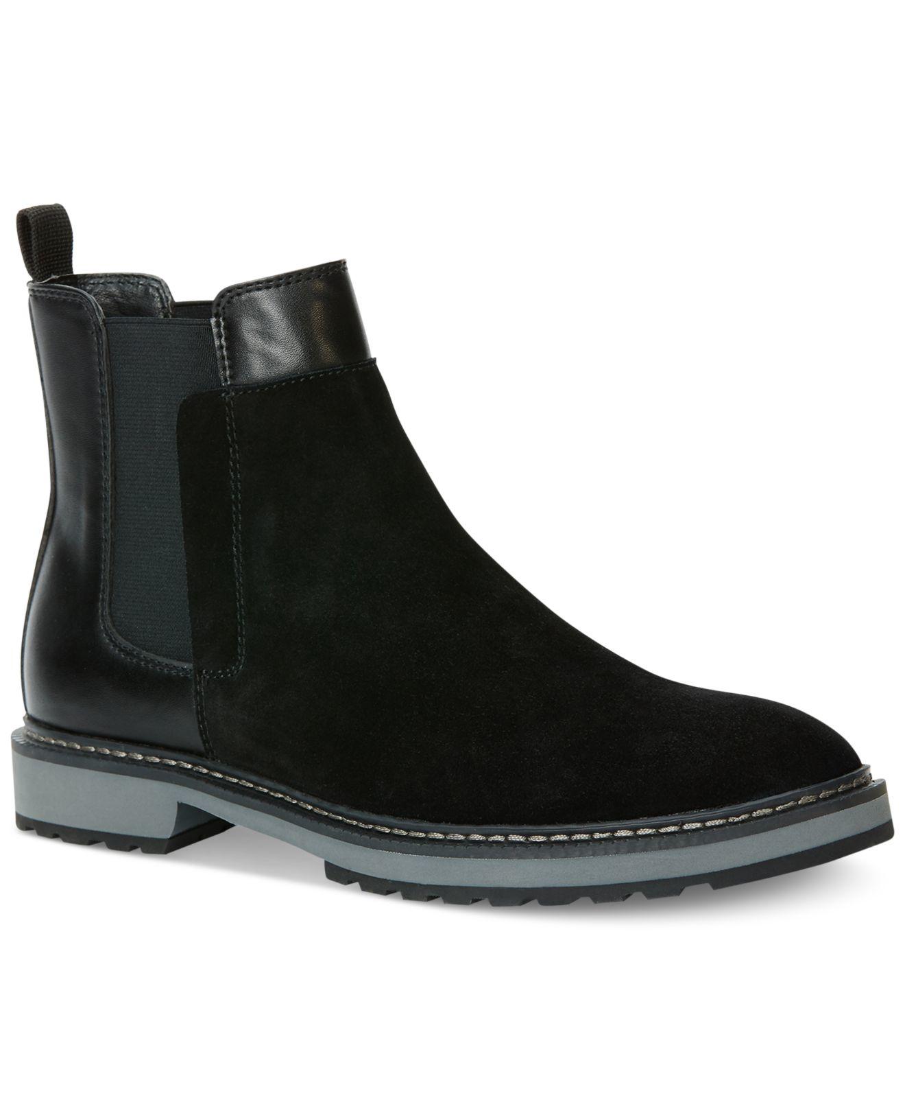 grand assortiment fournisseur officiel prix favorable Calvin Klein Black Avis Boots for men