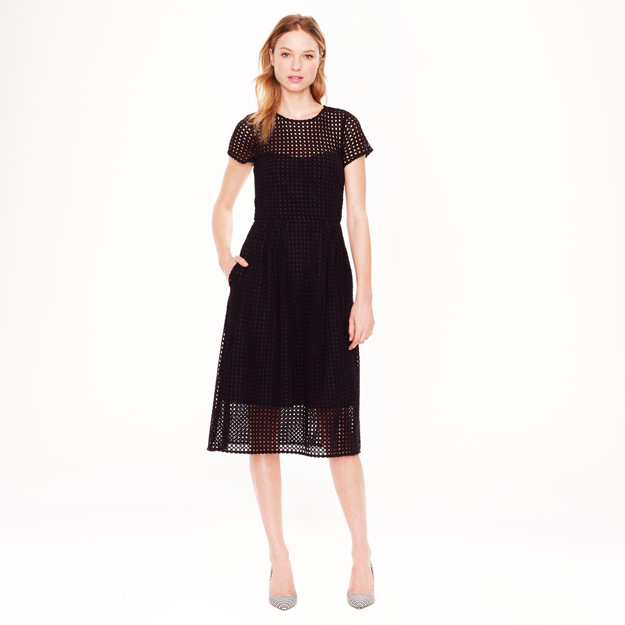 Black dress j crew - Gallery