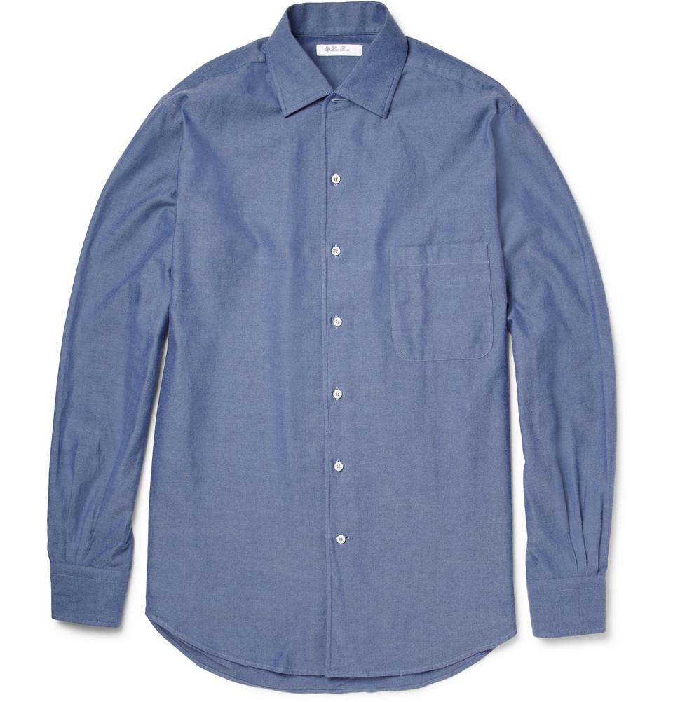 Andre Cotton-chambray Shirt Loro Piana Real RmQdVgyTQB