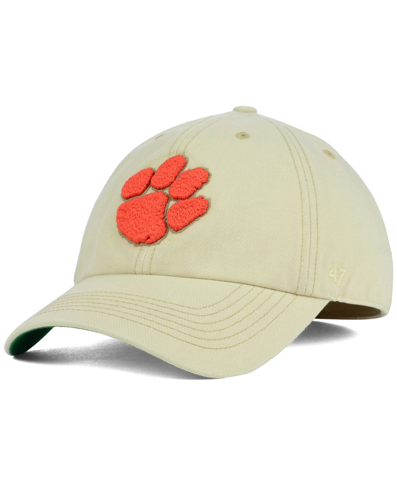 7a0faa19aad7c ... hat cap dded4 a4d50 order lyst 47 brand clemson tigers franchise cap in  natural for men 14fbe 3f3f5 ...