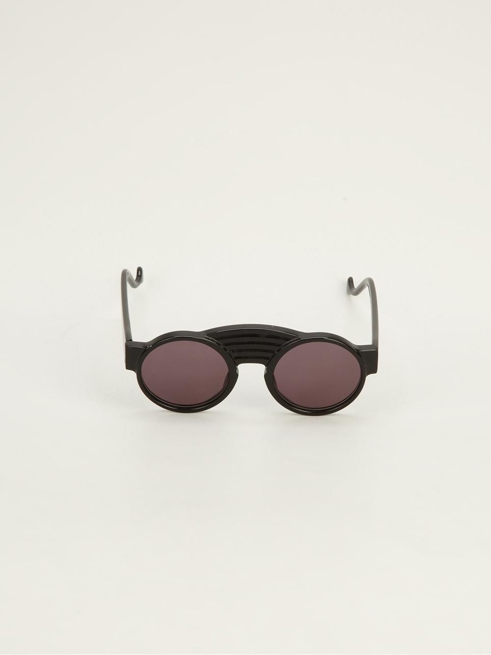 92c813dd185b Vintage Shades Traction Productions Wallis Noir Sunglasses in Black ...